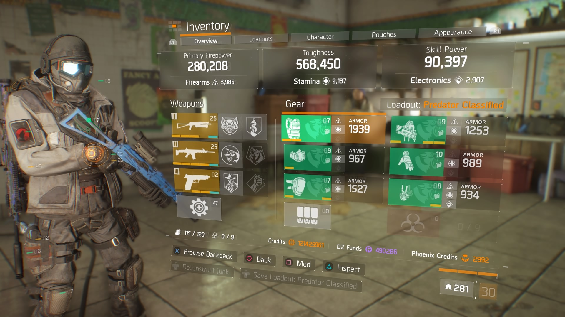 The Division Hunter S Faith Build
